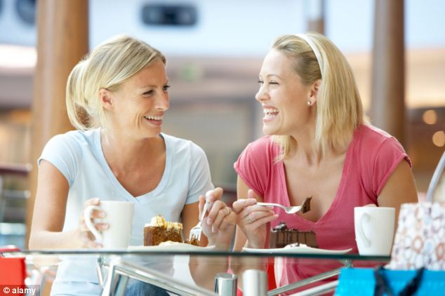 Social connections: Making friends and being positive can be as important for your health as diet and exercise, say researchers