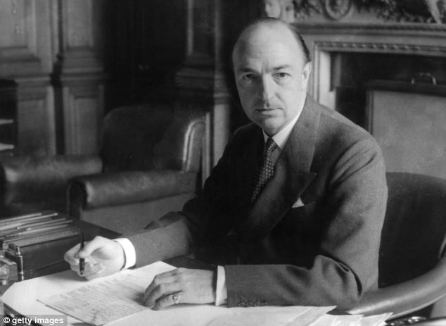 Affair: John Profumo, the newly-appointed Secretary of State for War at the War Office before the scandal of his affair with call-girl Christine Keeler