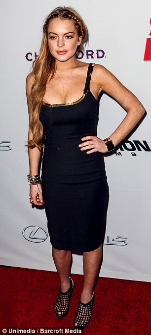 Getting into trouble? Lindsay Lohan could end up in hot water as she's reportedly plotting her escape from rehab
