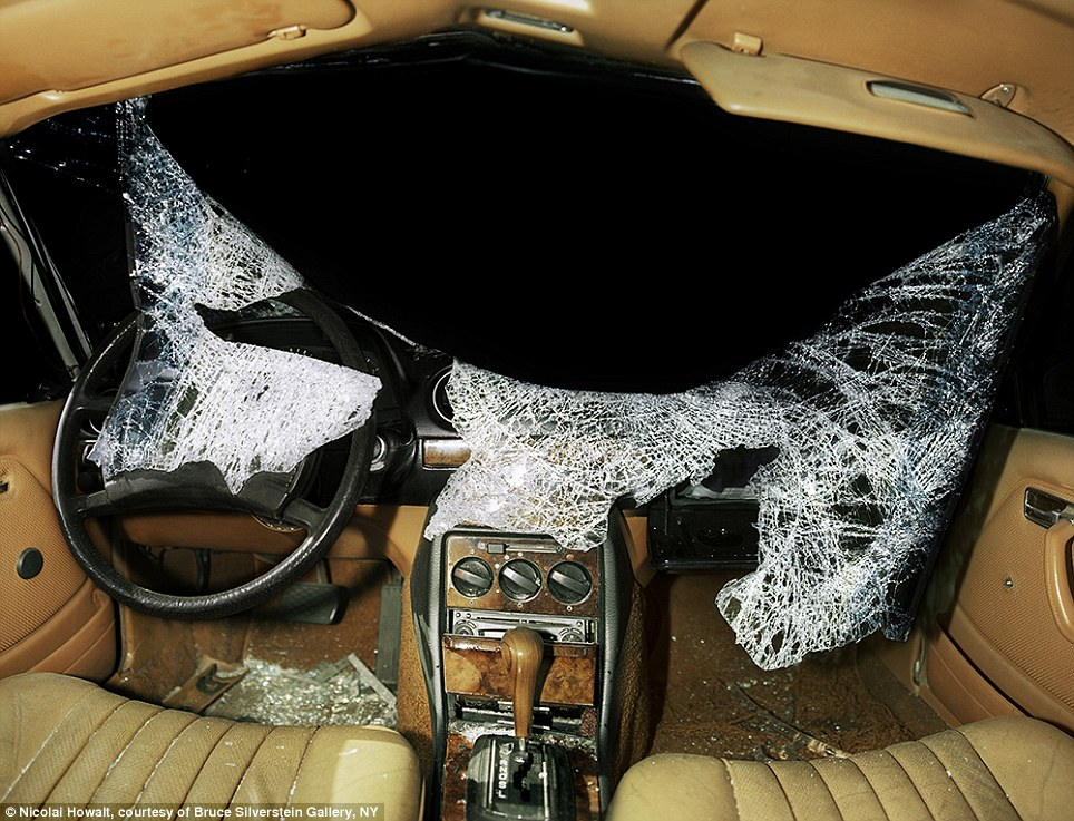 Reality check: Some photos in the 2009 series look like that would not be out of place in an accident report