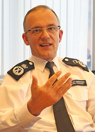 The research firm held talks with police commissioner Sir Bernard Hogan-Howe, left, and assistant commissioner Mark Rowley, right