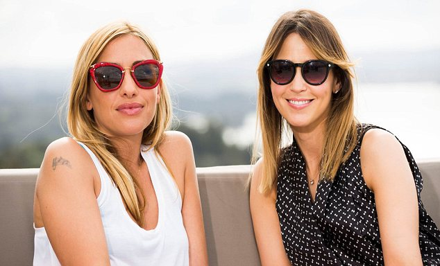 Pop stars: Rachel Stevens will be making an appearance on X Factor New Zealand acting as Melanie Blatt's aid