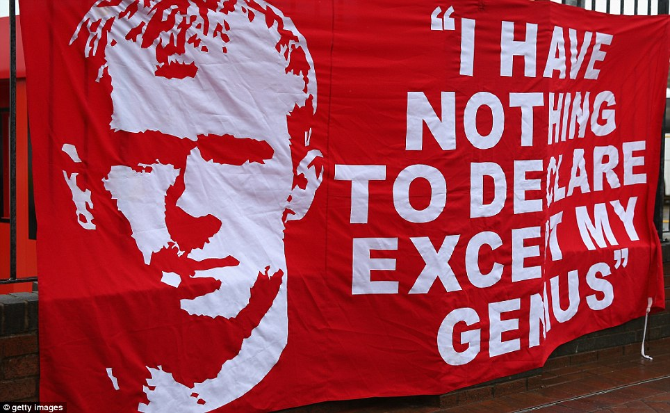 Final bow: Paul Scholes was also playing his last game at Old Trafford after the midfielder announced his retirement