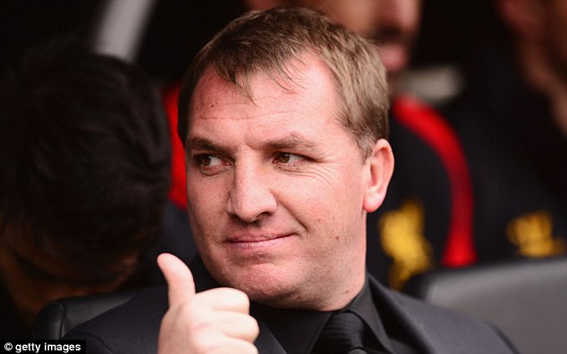Proud: But Rodgers' Liverpool began in underwhelming fashion