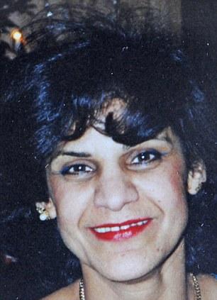 Fery Harris aged 36 in 1994, pre-surgery
