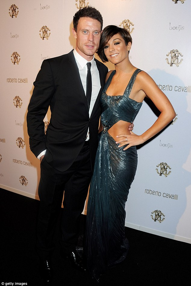 Parents-to-be: Frankie and Wayne Bridge have been dating for over two years and announced their engagement just a few weeks before their pregnancy