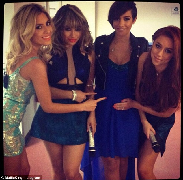 Group support: Fellow band members Mollie, Vanessa, and Una have shared their excitement about Frankie's news