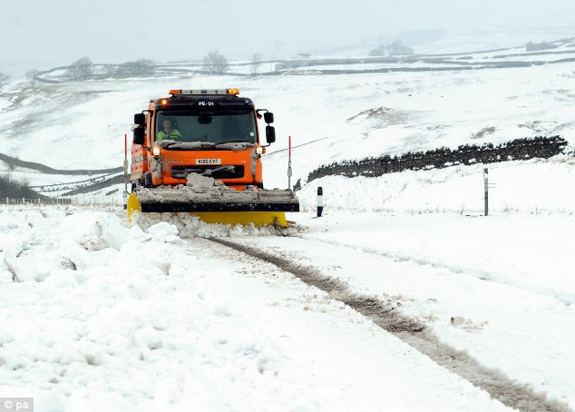 One of the biggest problems in extreme weather is gritters getting trapped in jams caused by stranded or abandoned cars and 'inconsiderate' drivers, and therefore unable to lay grit