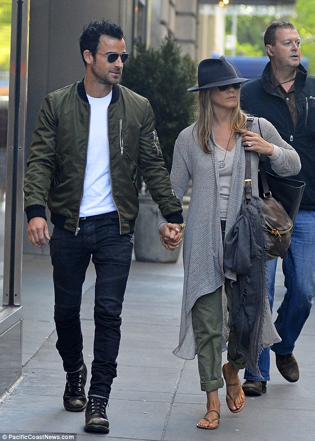 Shopping spree: The couple wandered into Barneys New York during their Manhattan outing