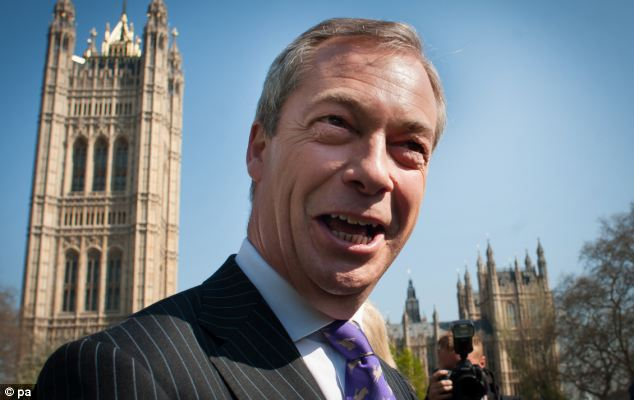 UKIP leader Nigel Farage said the Tories face an 'issue of trust' over Europe