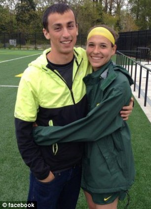 Alex Rovello and girlfriend Holly