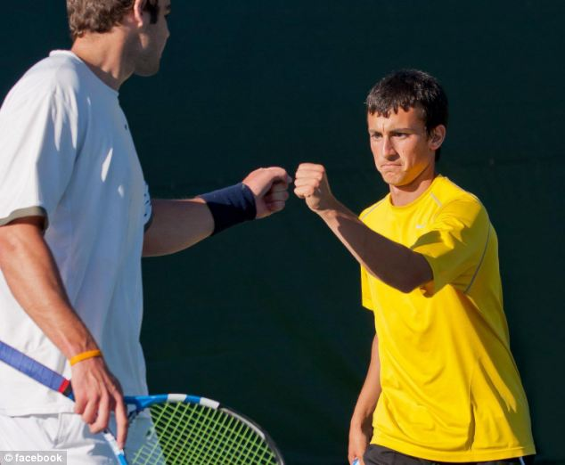 Accomplished: While at high school, he was ranked No. 24 in the country and held a school singles record
