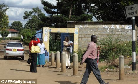 Forty mentally ill patients have escaped from Mathari Mental Hospital (pictured) in Nairobi after overpowering the guards
