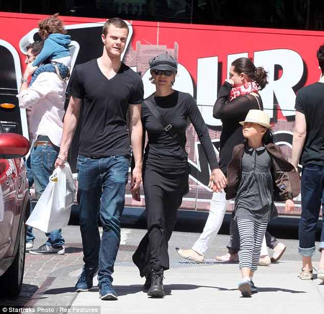 Happy Mother's Day: Meg looked in good spirits as she walked down the SoHo streets with her two kids