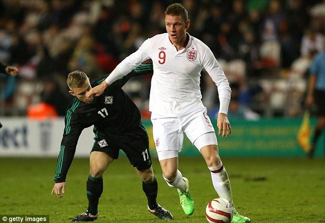 Promise: England U21 international Wickham was bought to replace Darren Bent