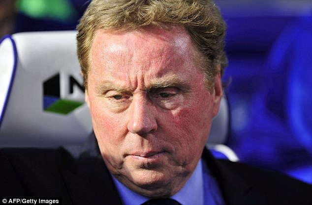 Market: Harry Redknapp will make a host of changes to his squad at the end of the season