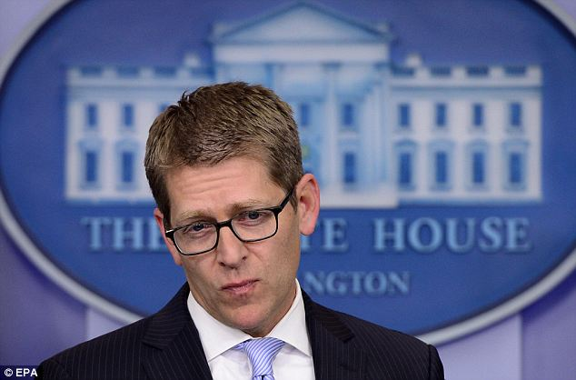 Supporter: Press Secretary Jay Carney was forced to issue a statement from the President supporting Holder