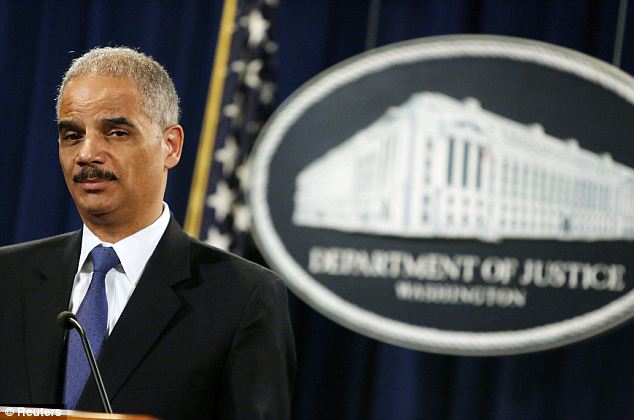 Government-backed: Holder said that the records they obtained were pertaining to the search for a security leak that led to the creation of an Associated Press story about a foiled terror plot