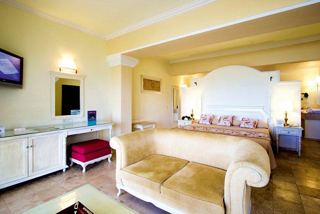 A room at the Grand Palladium resort, Jamaica