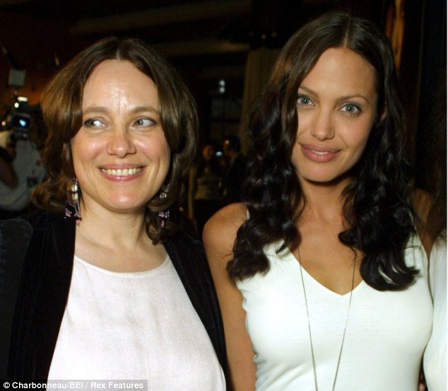 Loss: Angelina's mother Marcheline Bertrand died from ovarian cancer at 56. When Angelina discovered her mother's cancer was hereditary, she said that she decided to reduce the risk