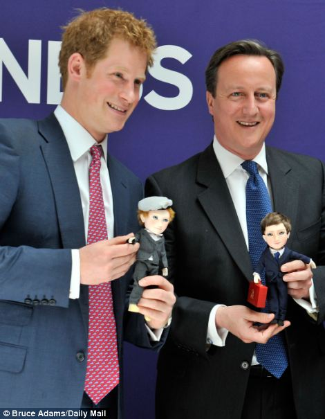 Prince Harry and PM David Cameron promote UK business on the 'GREAT' campaigns