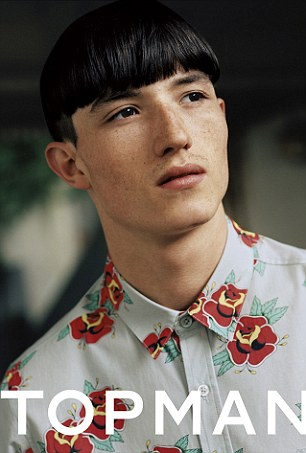 JESTER WHITE: He was scouted whilst walking his dog last year and is now in demand by top designers and stylists worldwide