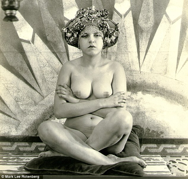 Fine art: Early 20th century photographer Albert Arthur Allen produced a collection of vintage, fine art nudes, including this image, taken in 1930