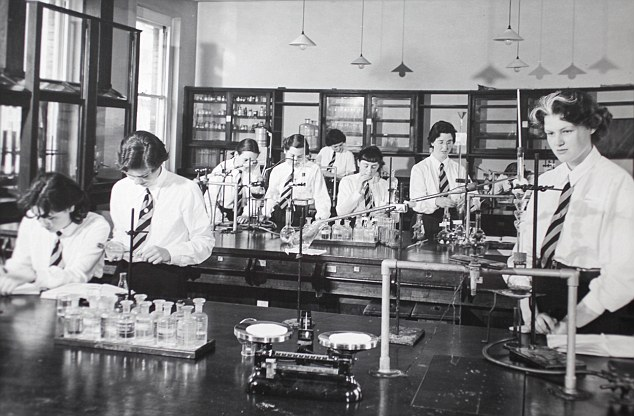 Traditional: This image shows pupils at the Perse School in the 1950s