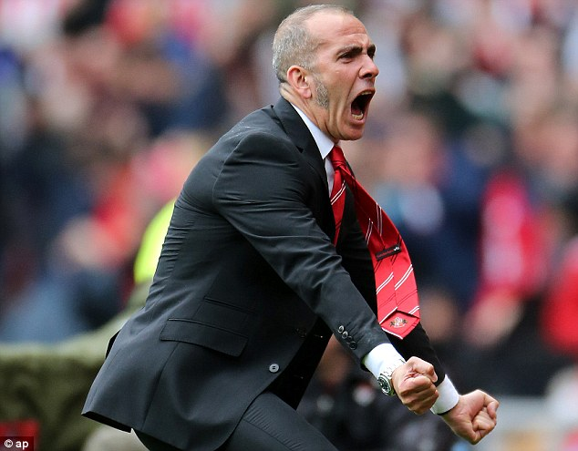 Impact: Sunderland would have been eighth if Paolo Di Canio was in charge at the beginning of the season