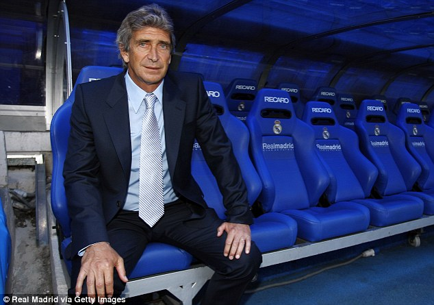 Driving seat: Manchester City have made Malaga coach Manuel Pellegrini their No 1 target to replace Roberto Mancini