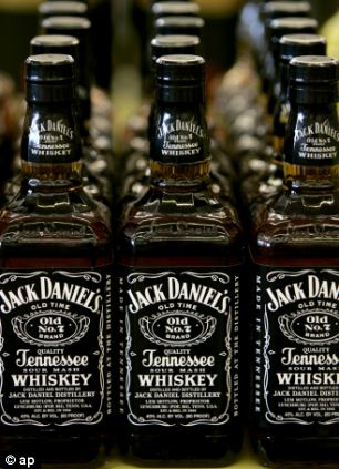 Bottles of Jack Daniel's