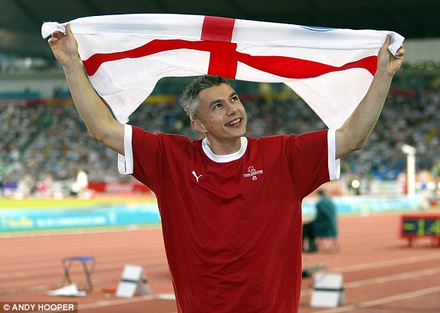 History: Edwards has fond memories of the Commonwealth Games, winning gold in Manchester in 2002