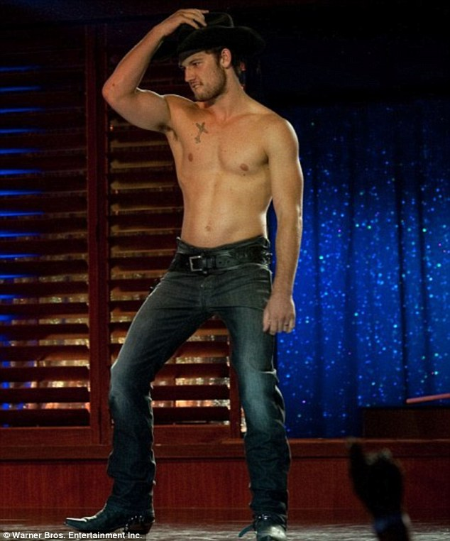 Famous body: The star's buff physique was made famous in 2012 stripper movie Magic Mike
