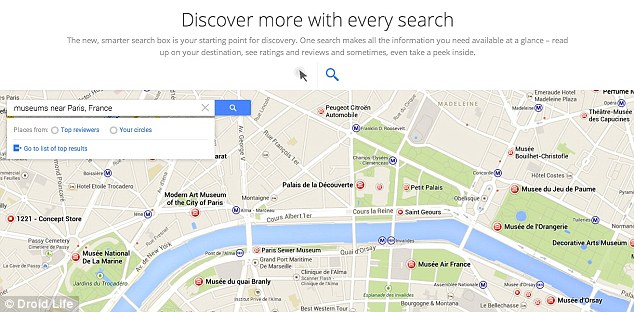 Leaked screenshots discovered by Droid Life, suggest Google is about to announced an update to its Maps service.