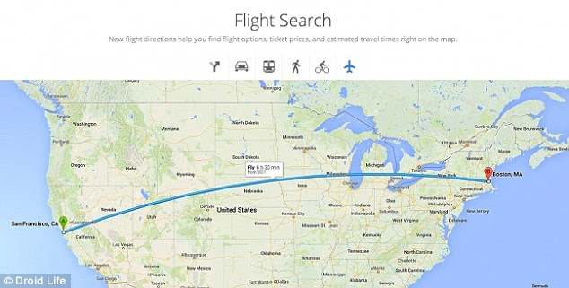 An updated Flight Search, seen on leaked images found by Droid Life, suggest you will soon be able to track flights,