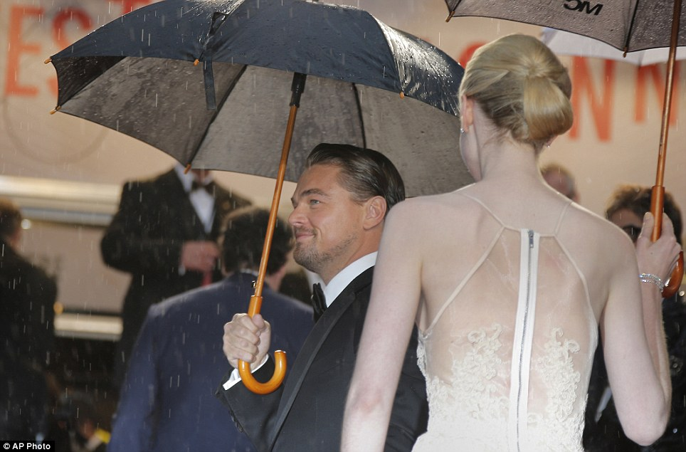 ... he turned up to see his movie The Great Gatsby open the 2013 festival