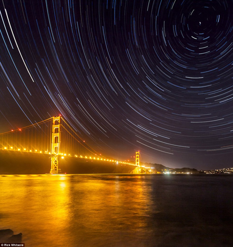 Impressive: These images are part of The World at Night's annual 'Earth and Sky' photography contest and feature some stunning sights. But as well as celebrating the beauty, they also reflect concerns