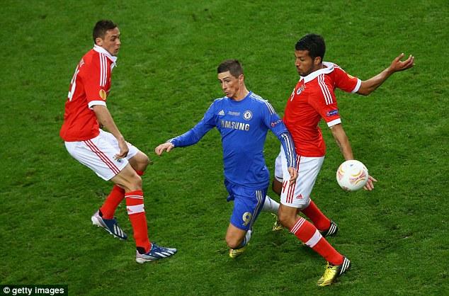 Double team: Nemanja Matic and Ezequiel Garay stop Torres in his tracks