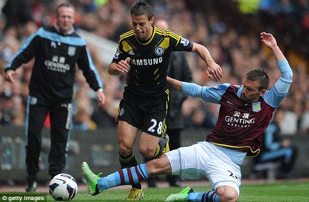 Talented: Andreas Weimann has emerged as one of Villa's key players