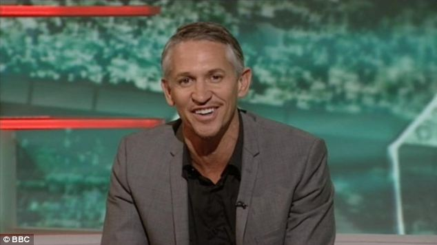 Costly: £15,000 a year goes on taxis to ferry Match Of The Day host Gary Lineker between Salford and Surrey