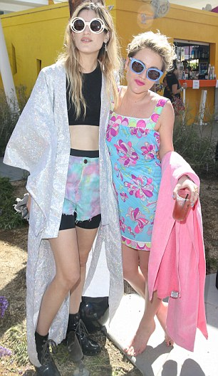 Jaime Winstone attend the House Of Holland eyewear pool party, hosted by Henry Holland and Io Echo
