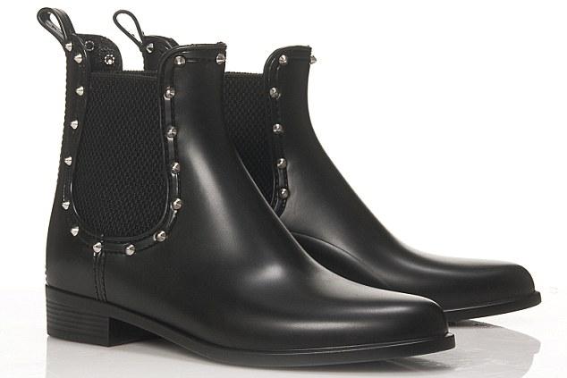 Waterproof boots, £140, Gothenburg London, gothenburgboots.com