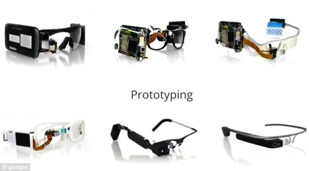 Google glass in prototype
