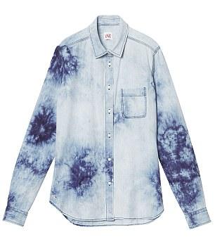 Shirt, £65, Lacoste, 44 Brompton Road, London SW3, tel: 020 7225 2851