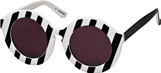 Sunglasses, £150, House of Holland, houseofholland.co.uk