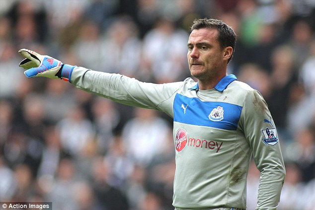 One last time: Steve Harper will play his 199th, and last, game for Newcastle this Sunday
