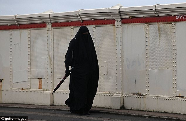 Convert: The girl had become a Muslim before being apparently abducted by a criminal gang (file photo)
