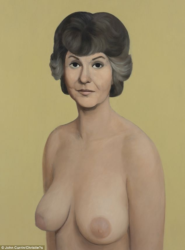 John Curran's 1991 piece 'Bea Arthur Naked' has fetched $1.9m at auction