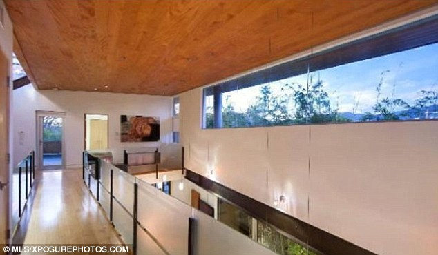 Designer's dream: The home was previously owned by denim designer Peter Koral of 7 For All Mankind fame