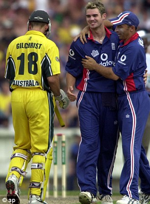 James Anderson and Nasser Hussain